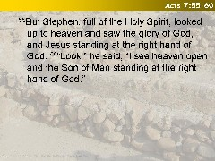 Acts 7:55-60