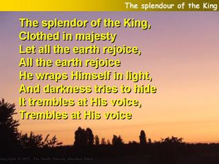 The Splendour of the King