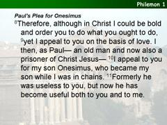Philemon 1-16