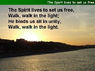 The Spirit lives to set us free