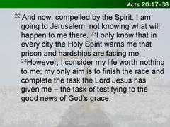 Acts 20:17-38