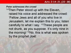 Acts 2:14-21,(22-38)