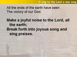 O sing to the Lord a new song (Psalm 98)