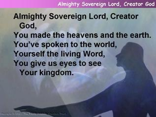 Almighty Sovereign Lord