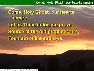 Come, Holy Ghost, our hearts inspire