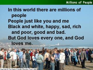 Millions of people