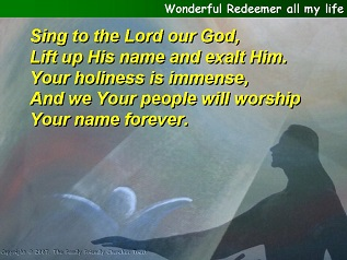 Wonderful Redeemer