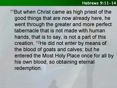 Hebrews 9:11-14