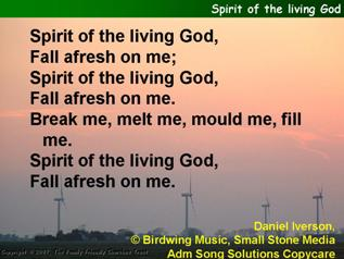 Spirit of the living God