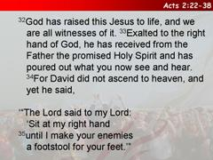 Acts 2:22-38