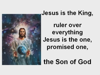Jesus is the King
