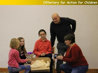 Offertory for Action for Children