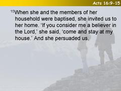 Acts 16:9-15