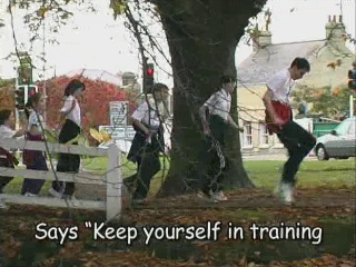 Keep yourself in training