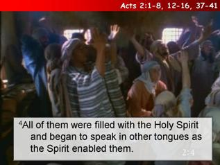 Acts 2:1-8, 12-16, 37-41